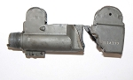 SMG Uzi Receiver front and rear sections